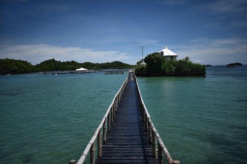 Gratis lagerfoto af blå, bro, ferie, hav