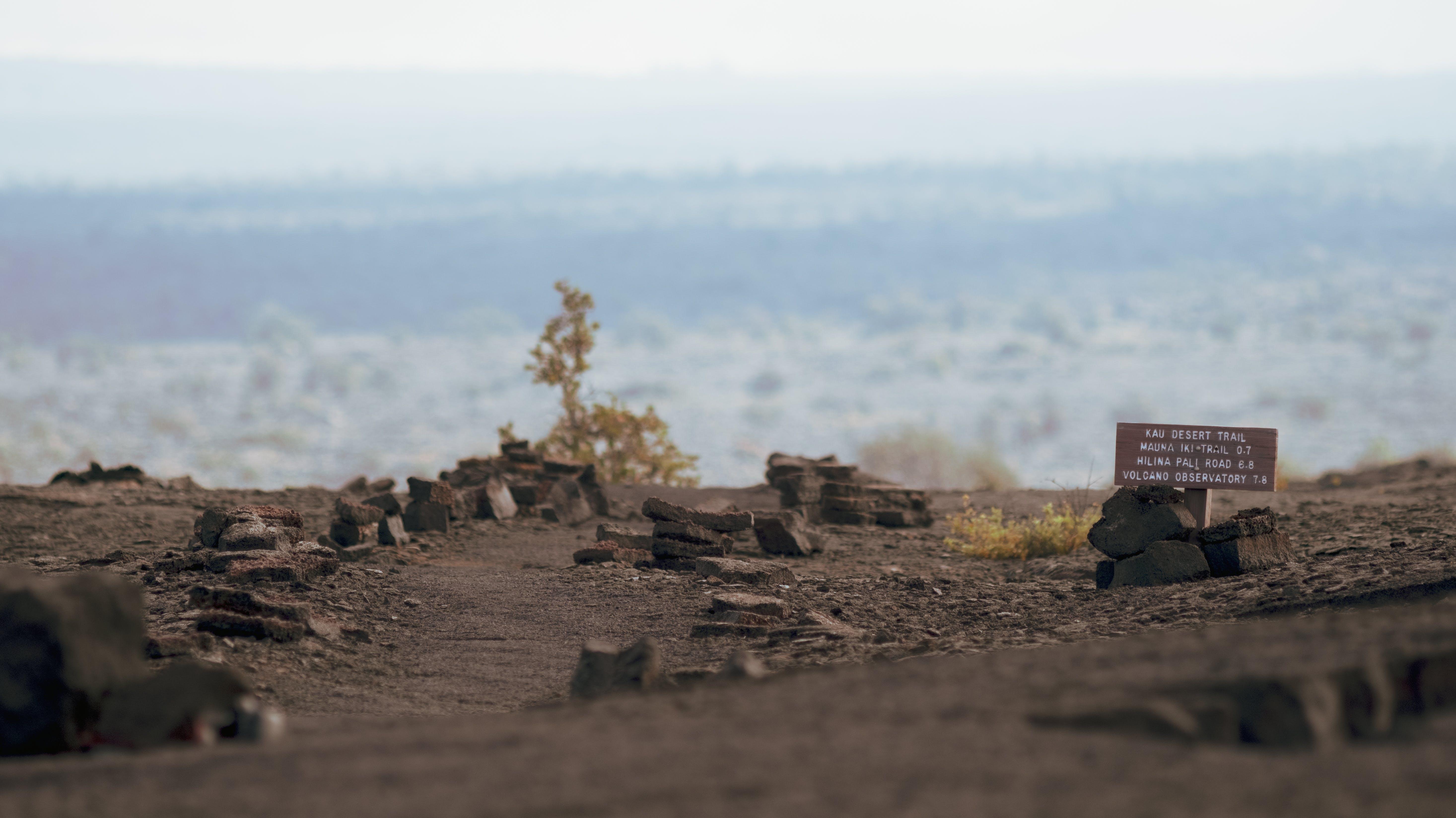 Free stock photo of desert, desolate, HAVO, hawaii