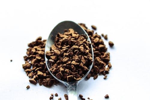 Kostnadsfri bild av bryggt kaffe, kaffeböna, tesked, tidig morgon