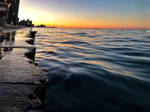 Foto profissional grátis de água, caminhada de tabuleiro, Chicago, cidade