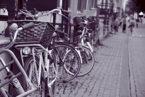 Immagine gratuita di amesterdam, città, città di amsterdam, graziella bike