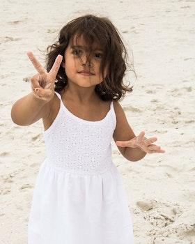 Free stock photo of sand, girl, baby, kid