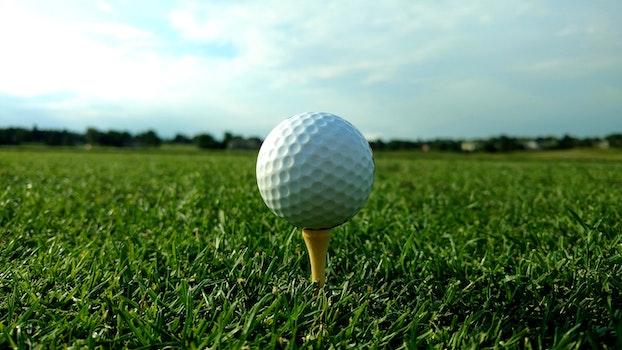 Free stock photo of golf, golf ball, green grass