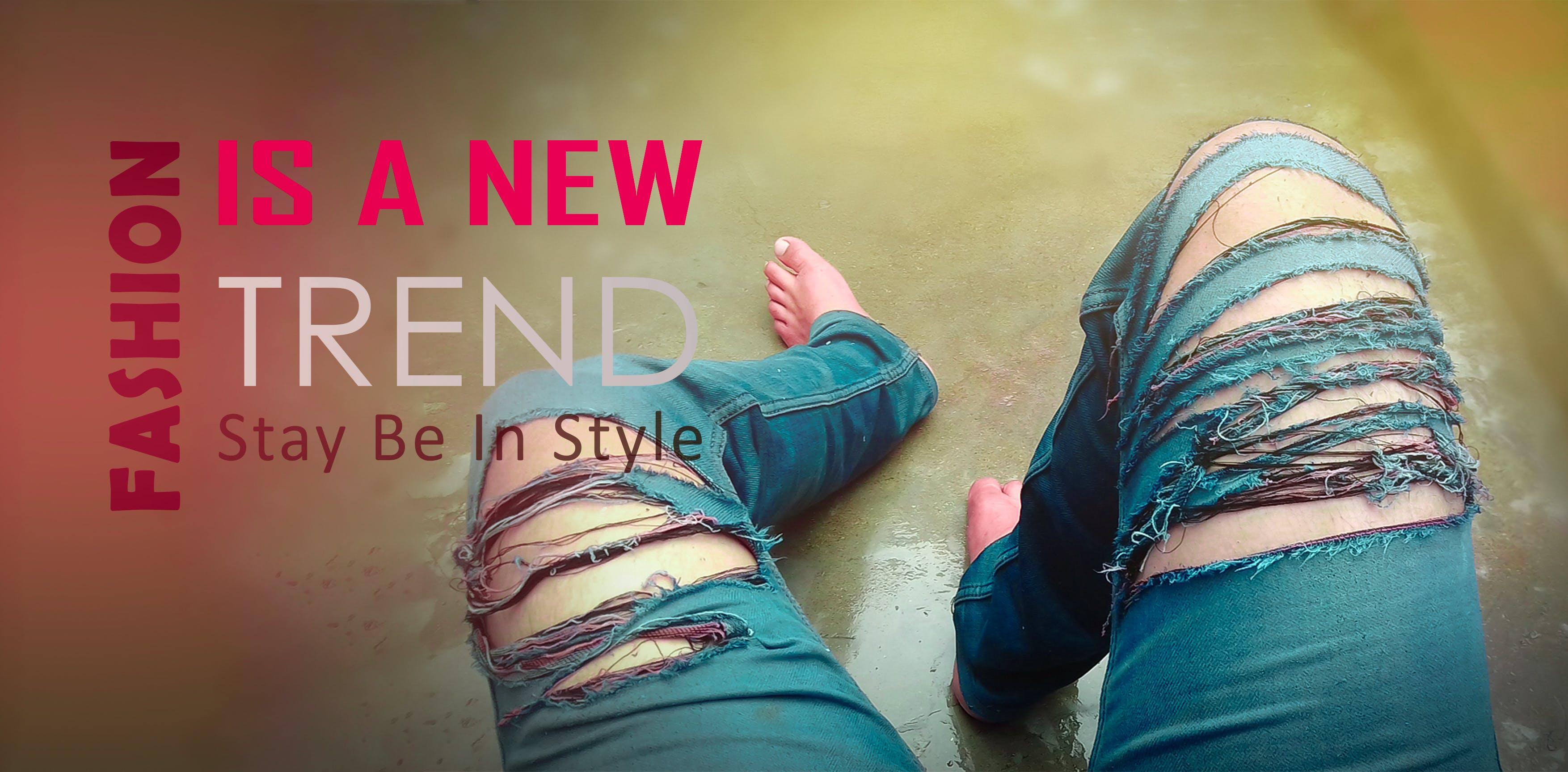 Free stock photo of 4k wallpaper, banner, colorful wallpaper, denim jeans