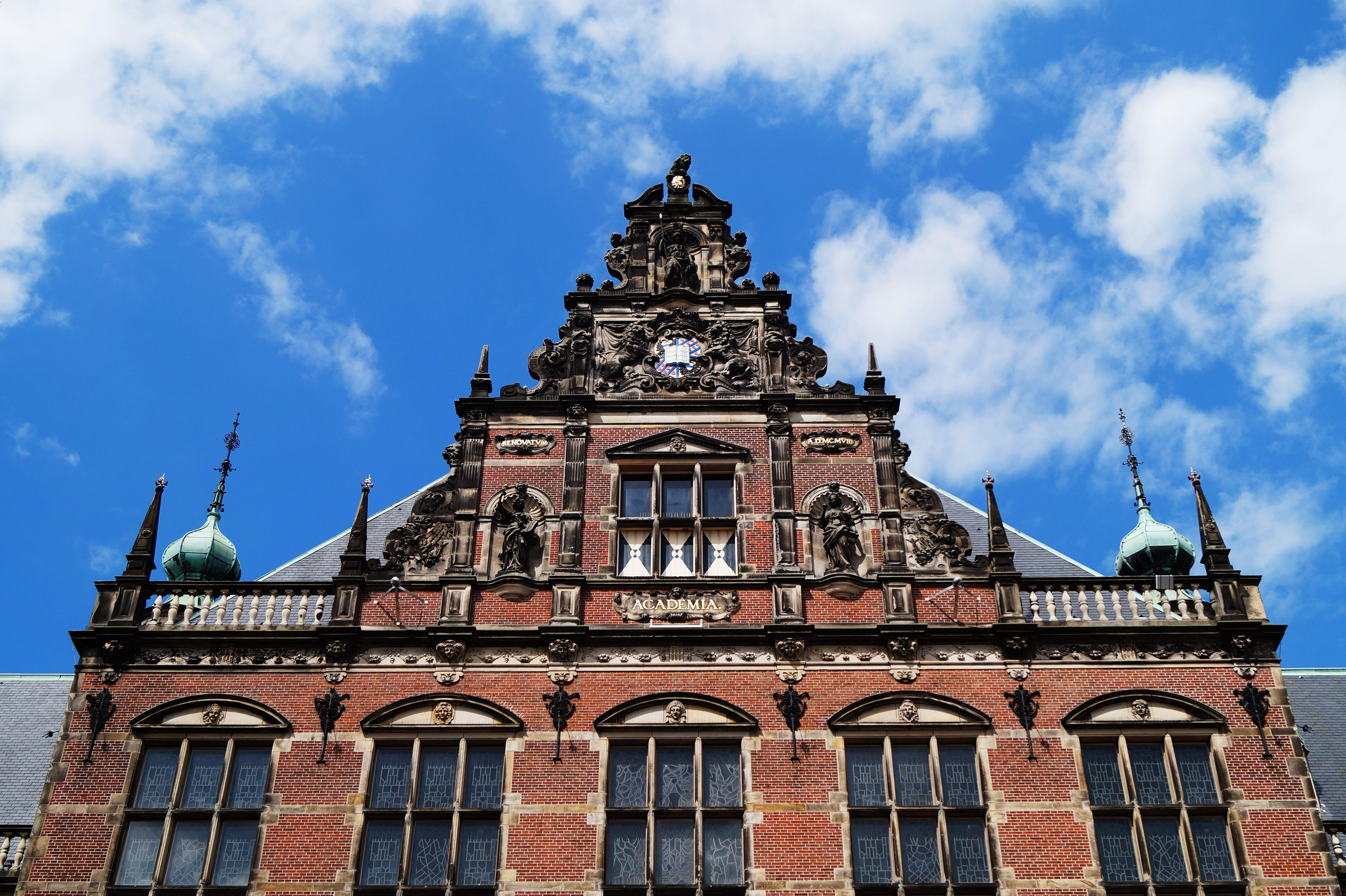 architecture, art, blue sky
