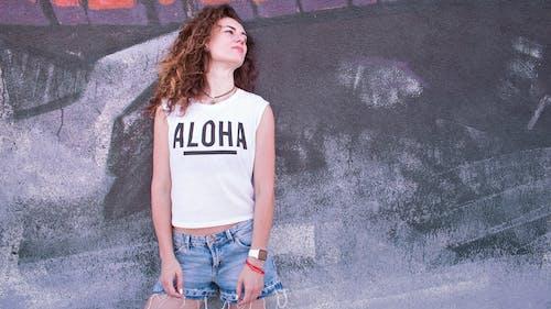 Imagine de stoc gratuită din aloha, artă pe perete, artă stradală, aspect