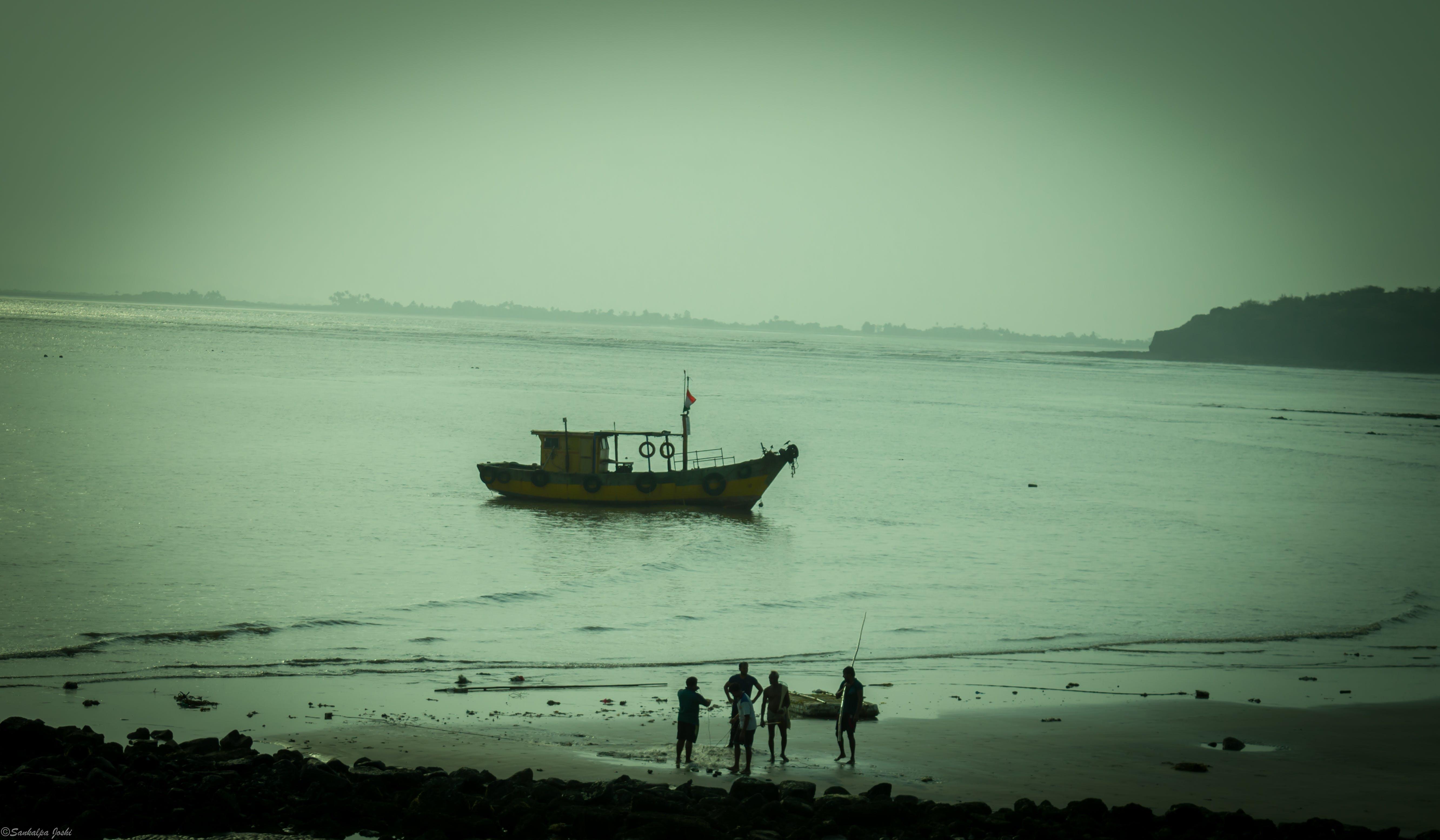 aventura, aventura diària, barca de pesca