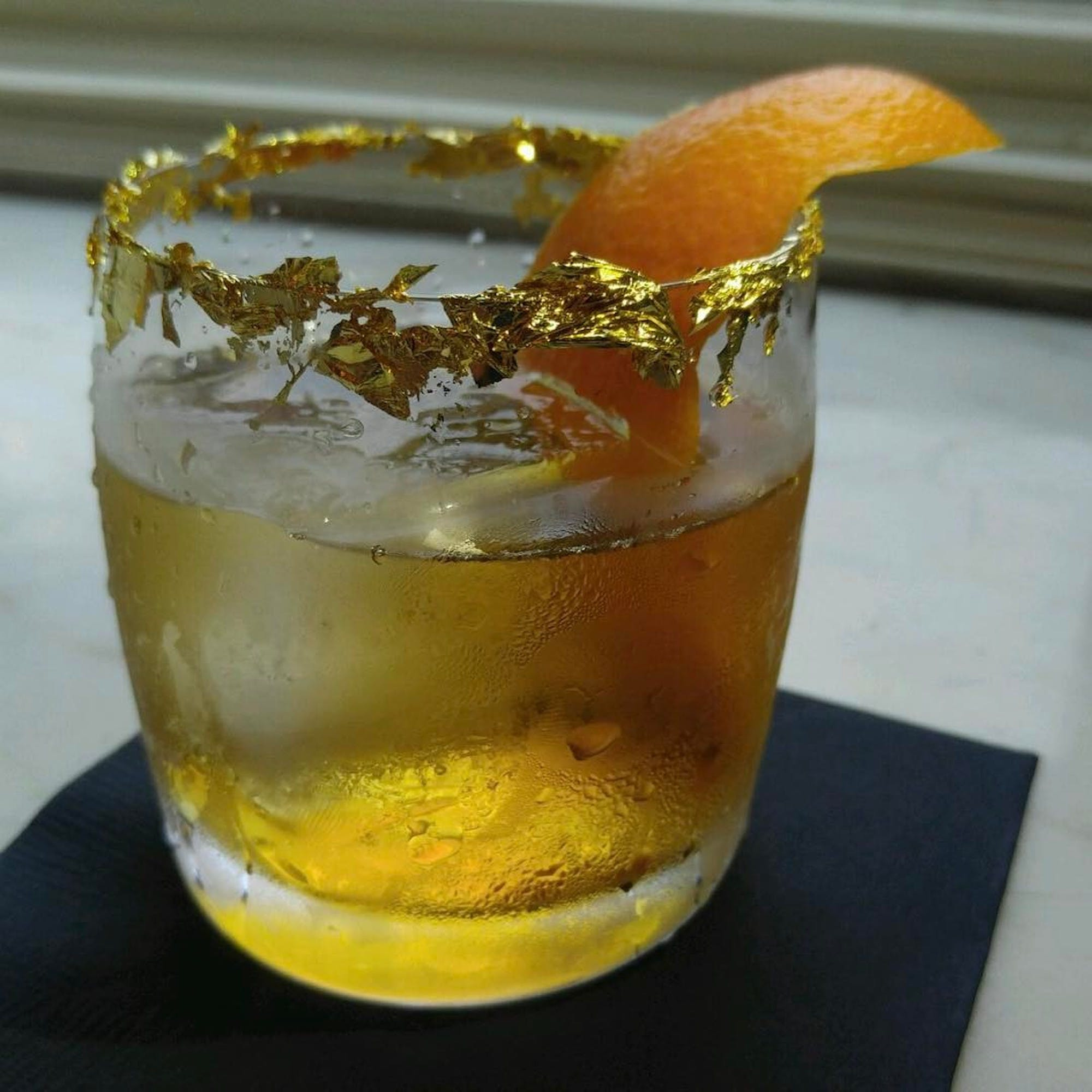 alcohol, drink, gold