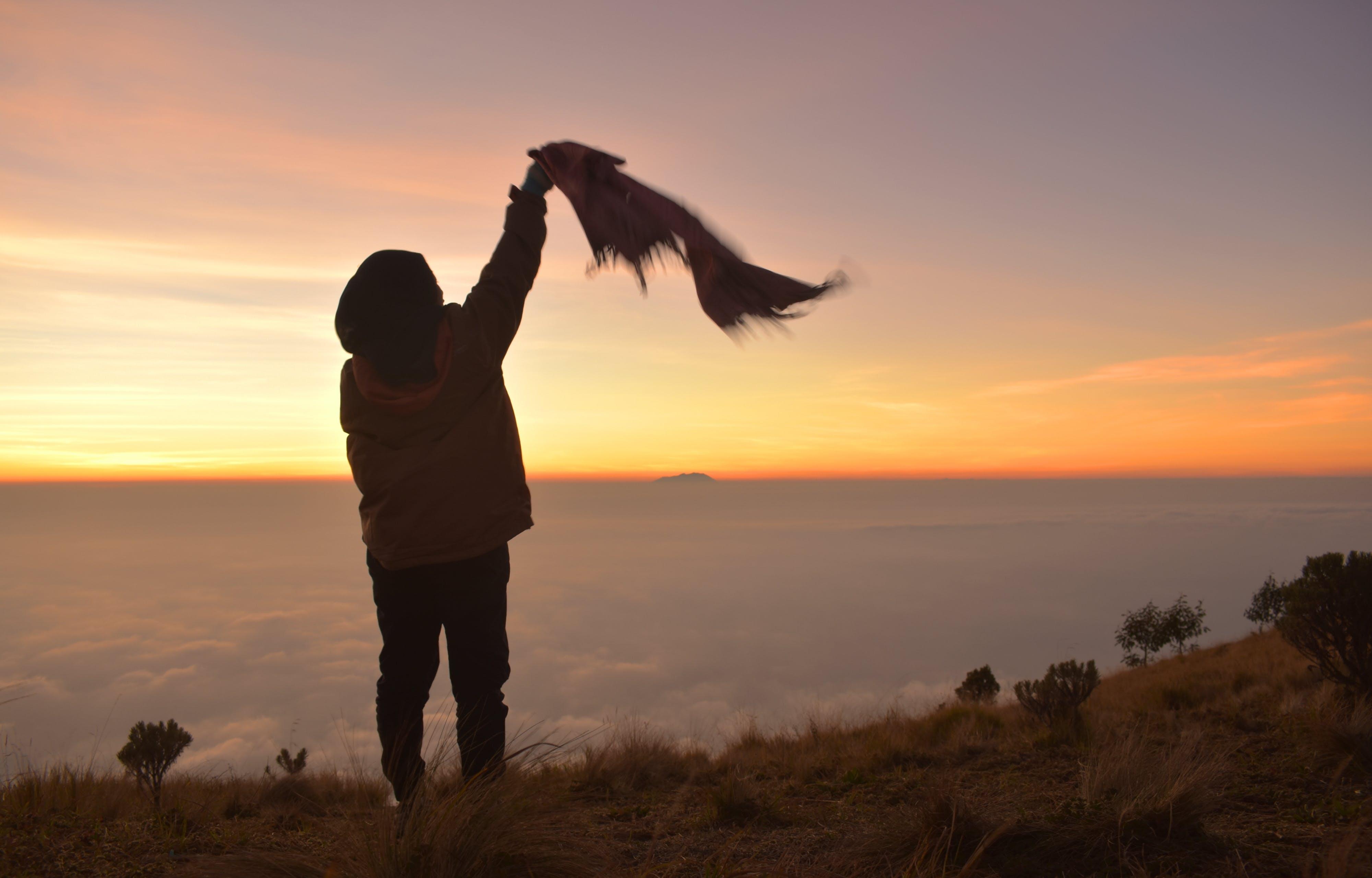 Free stock photo of adventure, freedom, hiking, morning glory
