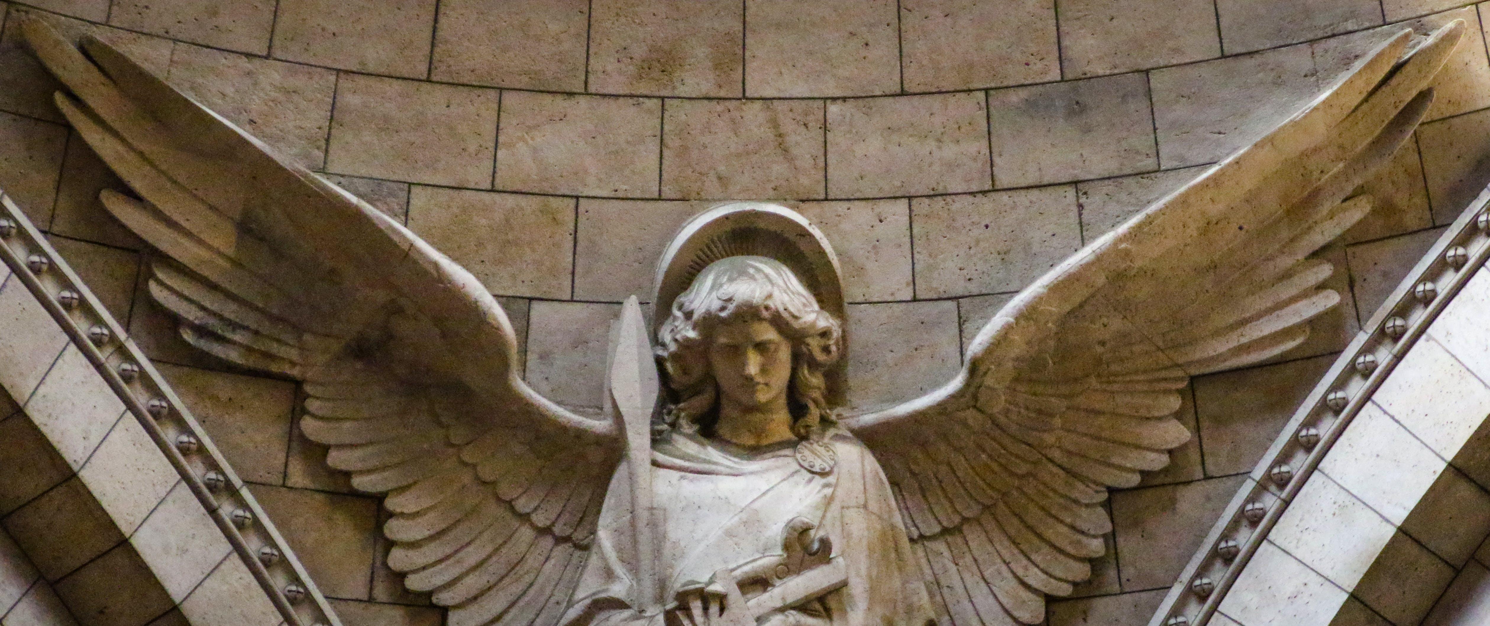 Free stock photo of angel, city, france, paris