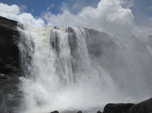 Free stock photo of #waterfall #cloud #athirapally #nature #photograph