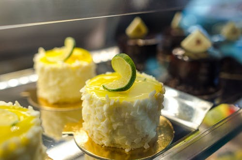 Close-up Photo of Pastry With Lime