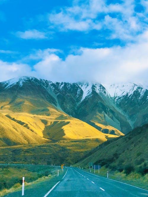 Fotobanka sbezplatnými fotkami na tému cesta, diaľnica, hora, krajina