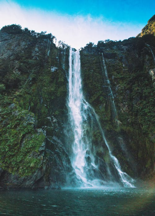 Gratis stockfoto met cascade, daglicht, h2o, mooi uitzicht
