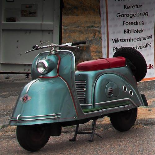 オールドタイマー, スクーター, デンマークの無料の写真素材