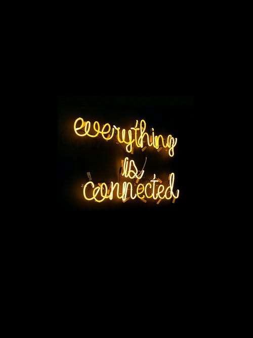 Everything Is Connected Neon-light Signage