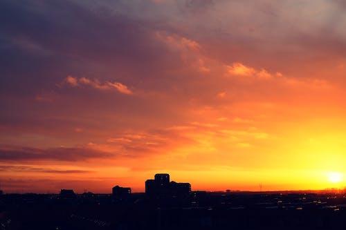 Foto stok gratis alam, awan, bayangan hitam, di luar rumah