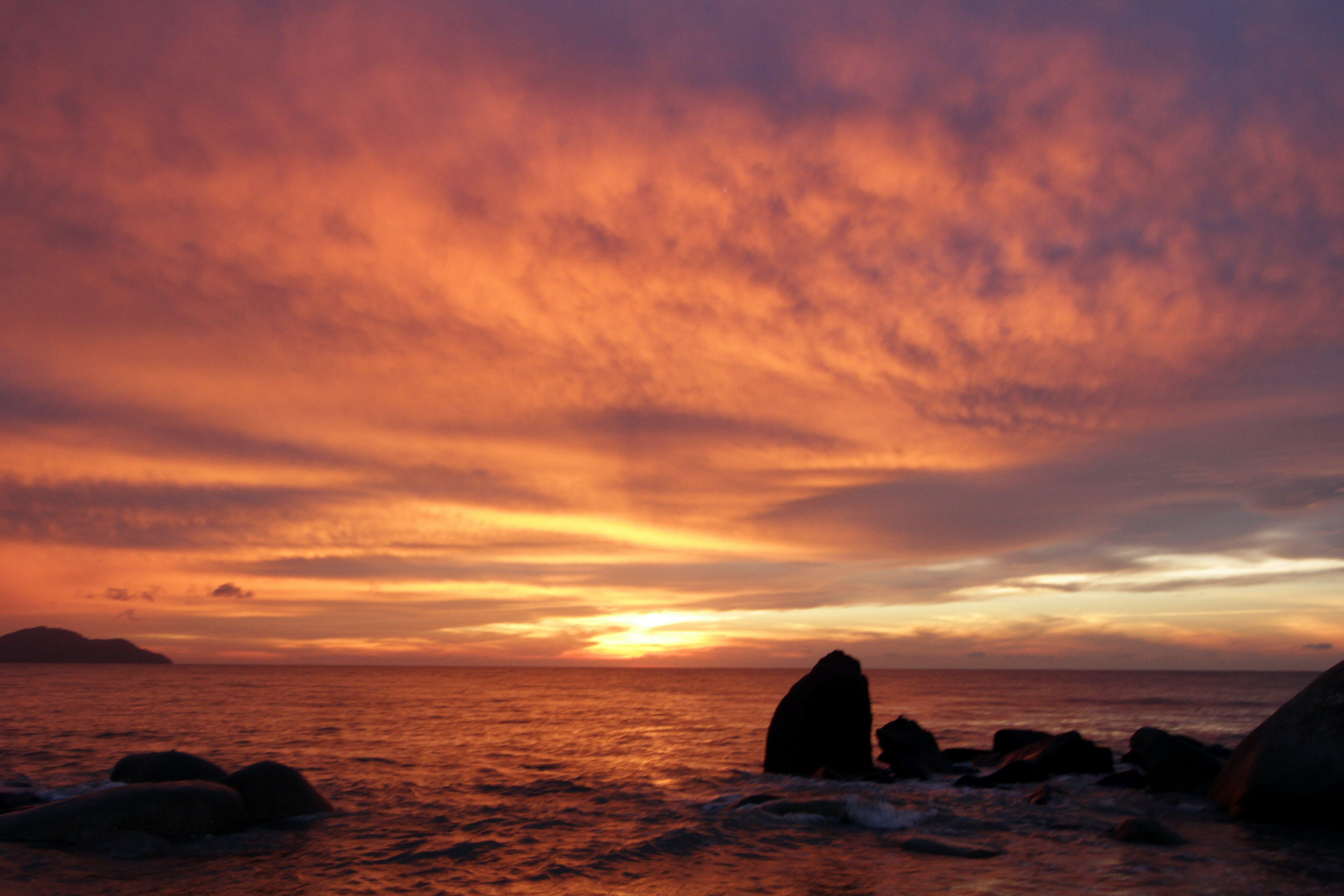 Free stock photo of #sunset, the sunset