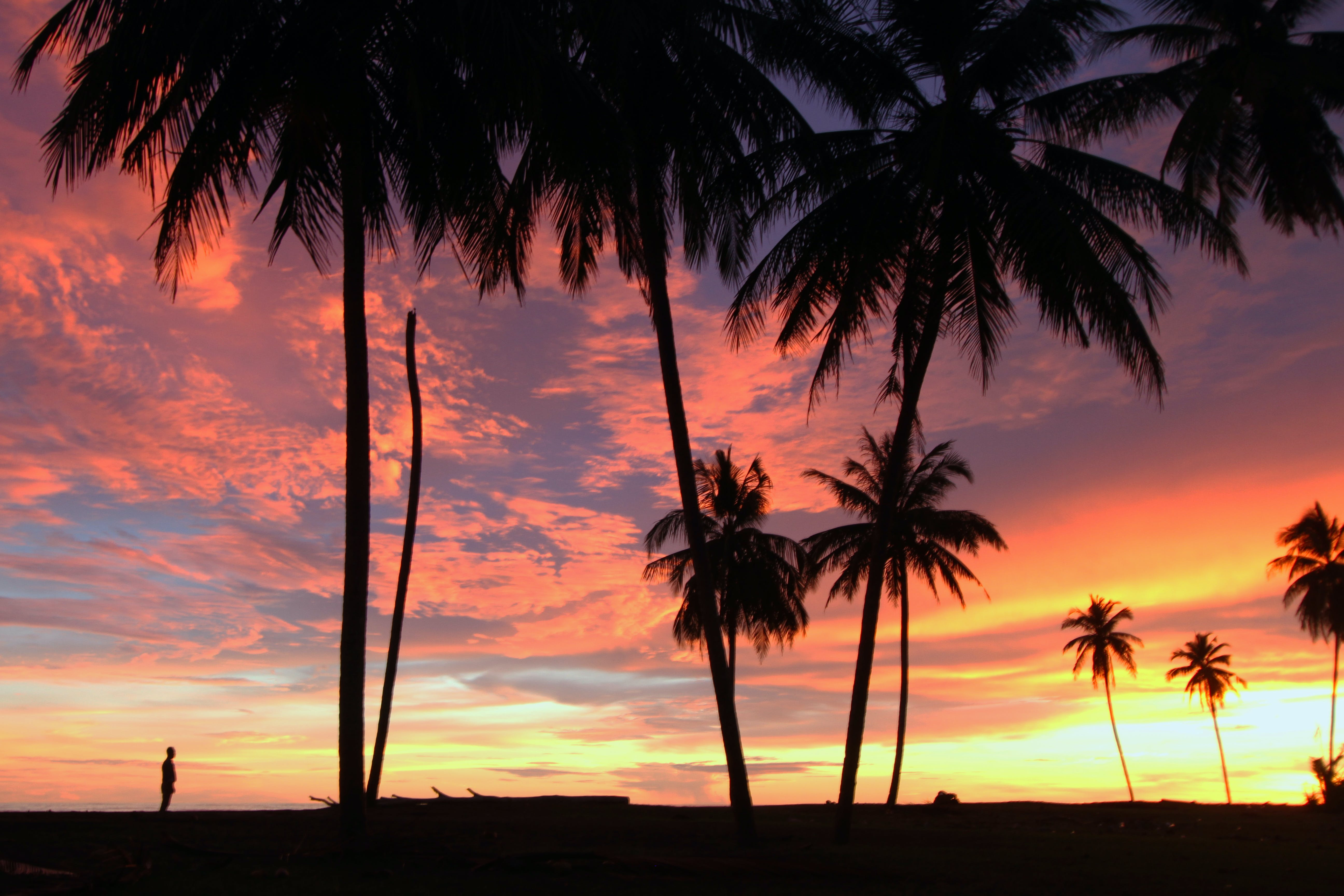 Free stock photo of Sunset in Meulaboh