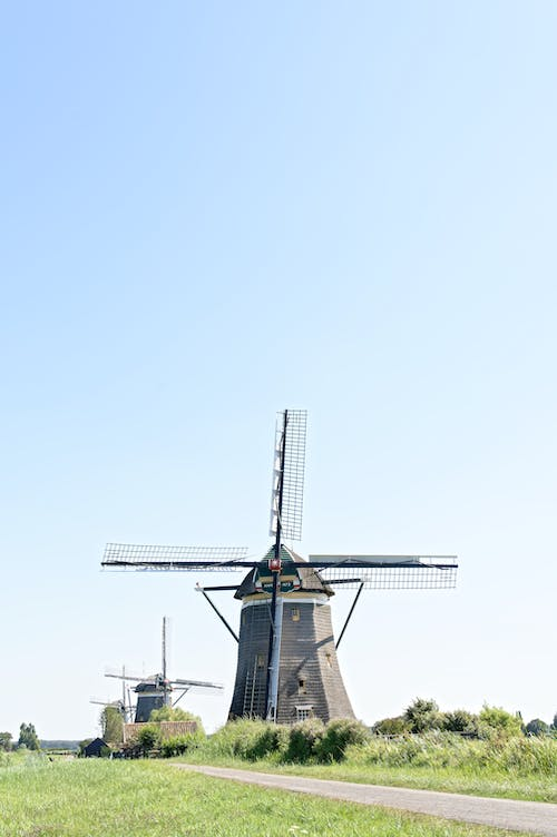 Free stock photo of bluesky, clearsky, green, Holland