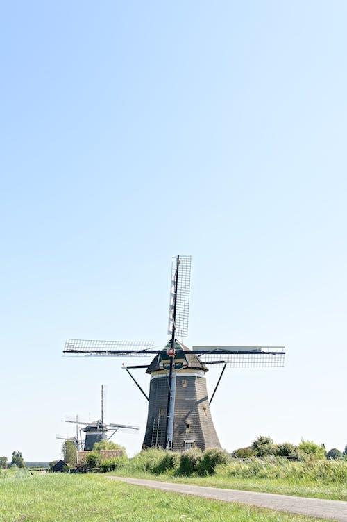 açık hava, gökyüzü, Hollanda, mavi gökyüzü içeren Ücretsiz stok fotoğraf