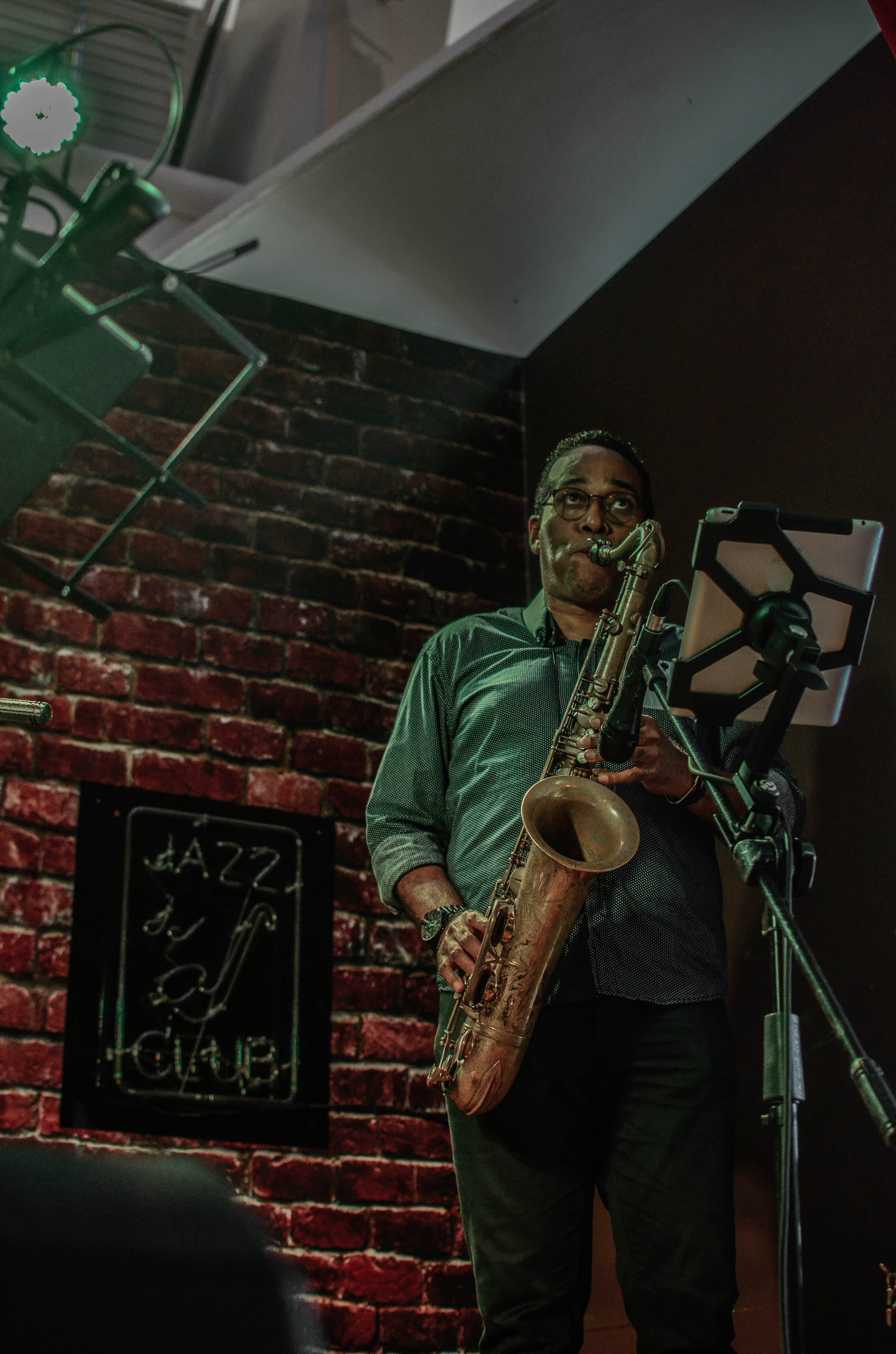 Jazz, mand, musiker