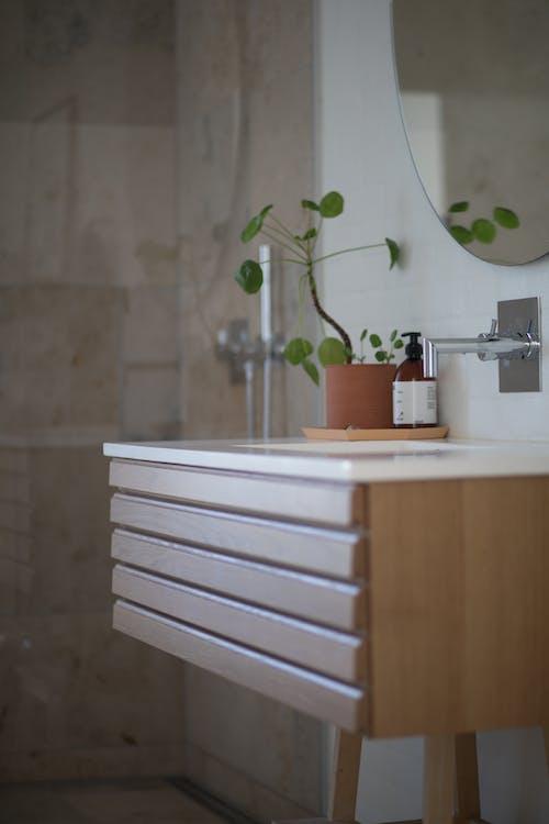 Kylpyhuone, nykyaikainen, pesuallas