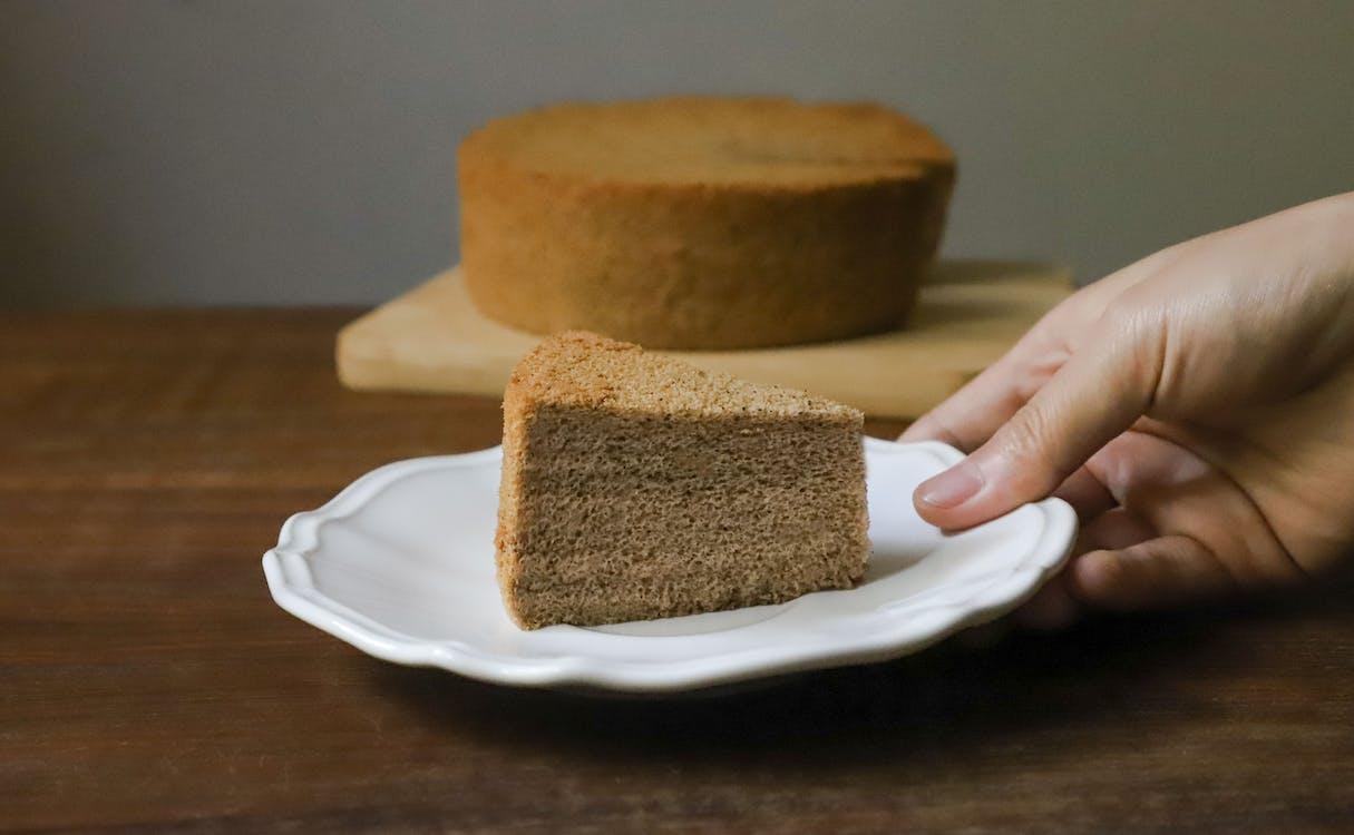 chleb, ciasto, jedzenie