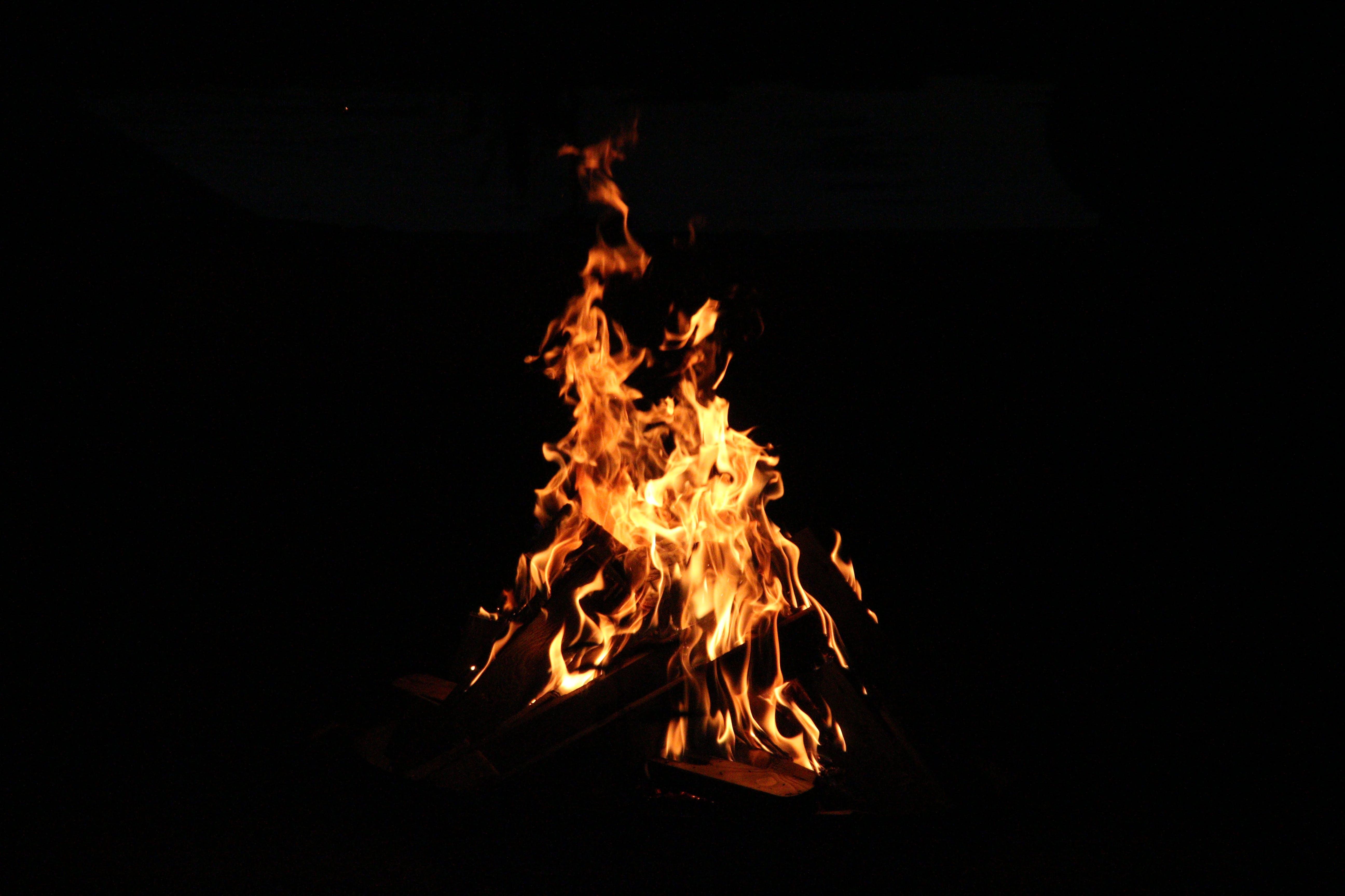 Kostenloses Stock Foto zu feuer, flammen