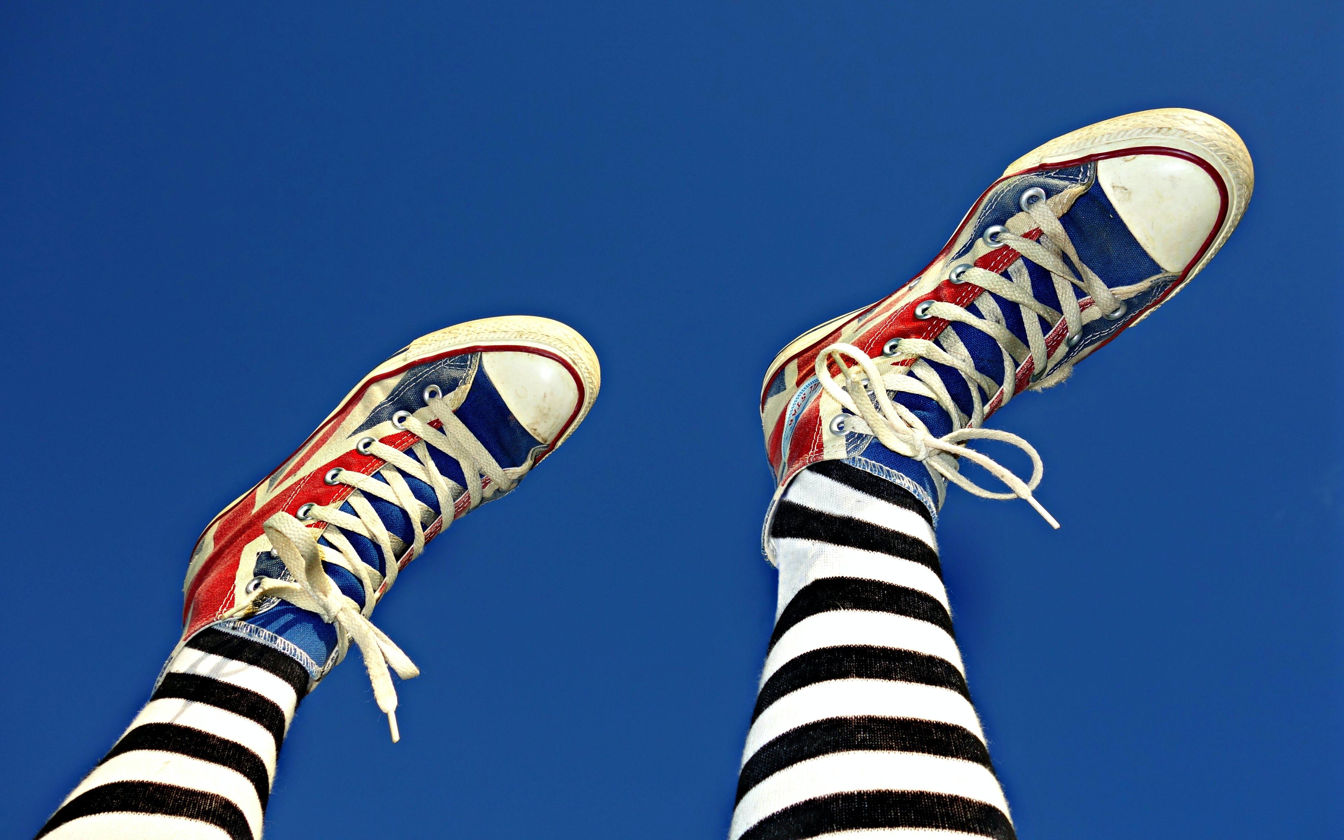 Free stock photo of feet, female, footwear, legs