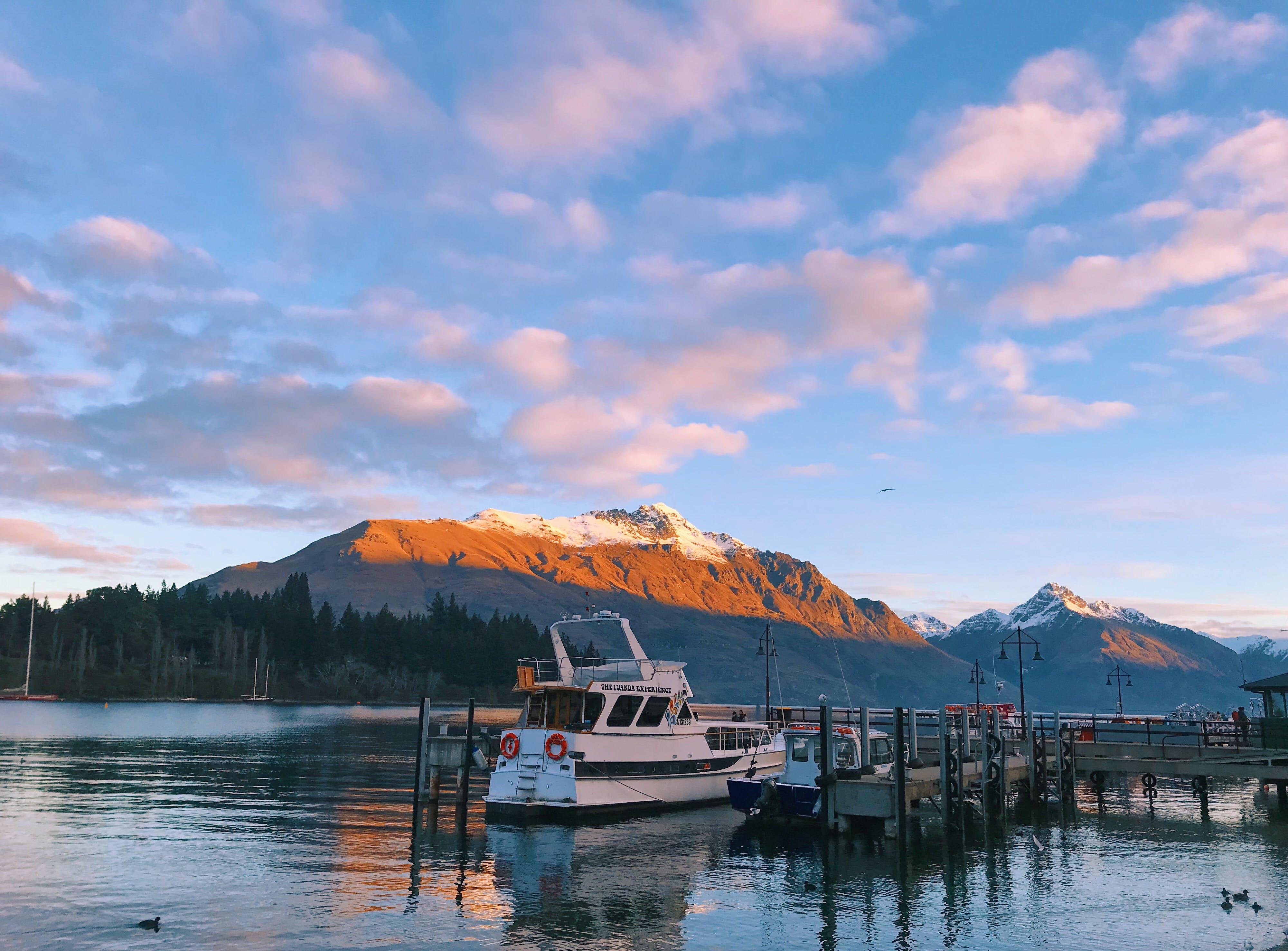 Δωρεάν στοκ φωτογραφιών με queenstown, βουνό, κατάστρωμα σκάφους