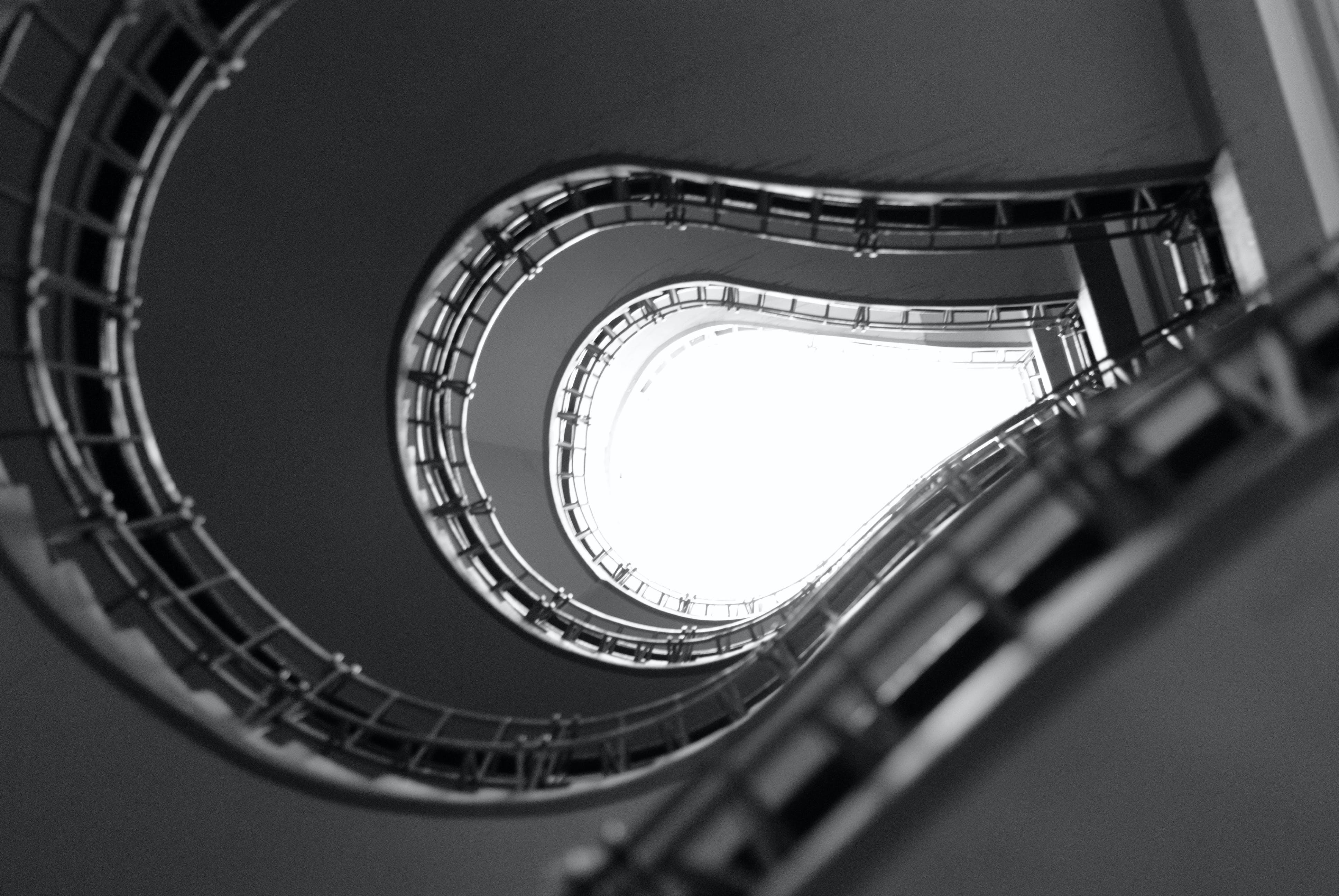 Kostenloses Stock Foto zu stufen, kurve, verschwimmen, design