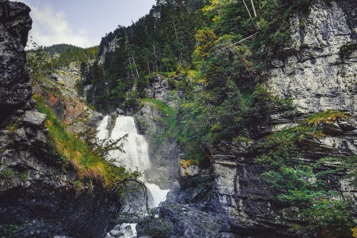 Free stock photo of forest, waterfall, waterfalls