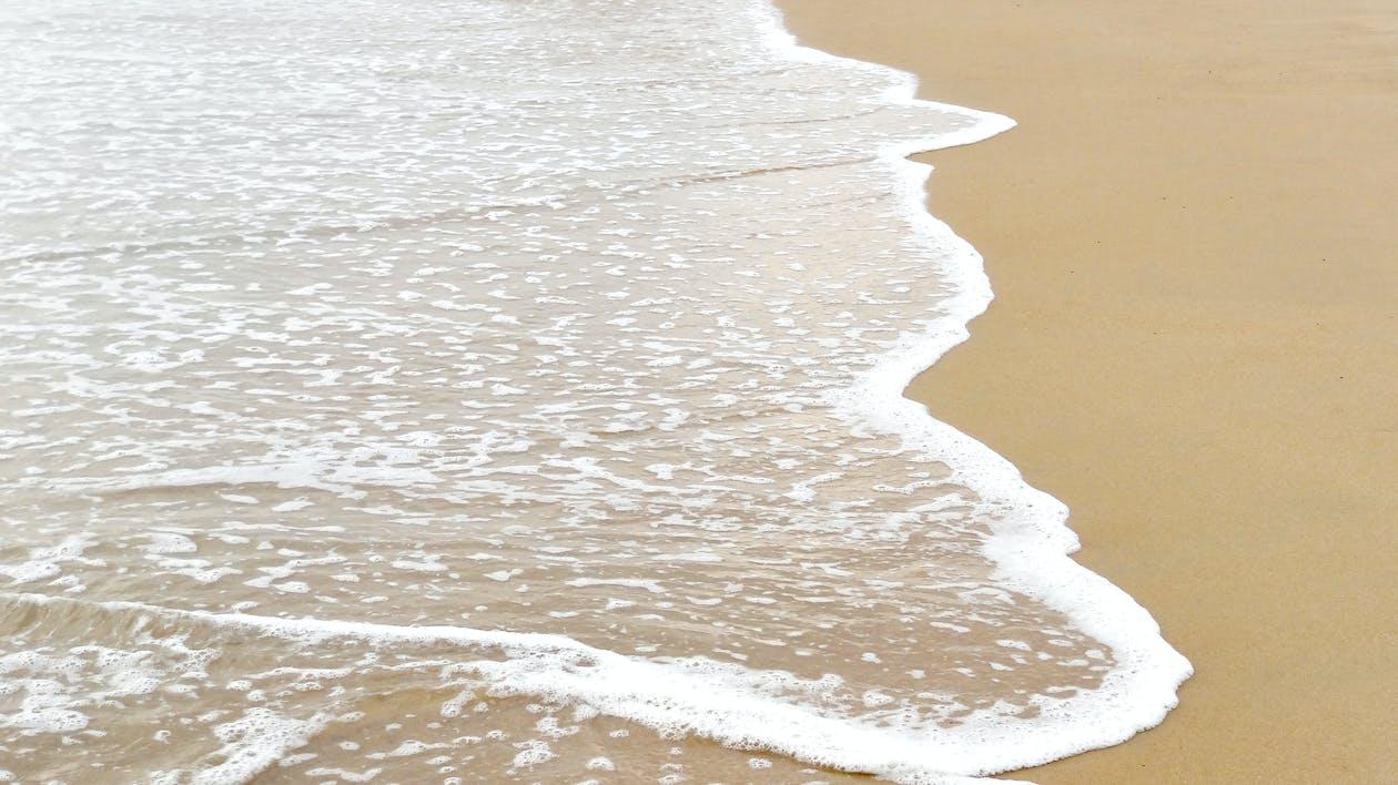 ビーチ, 岸, 水