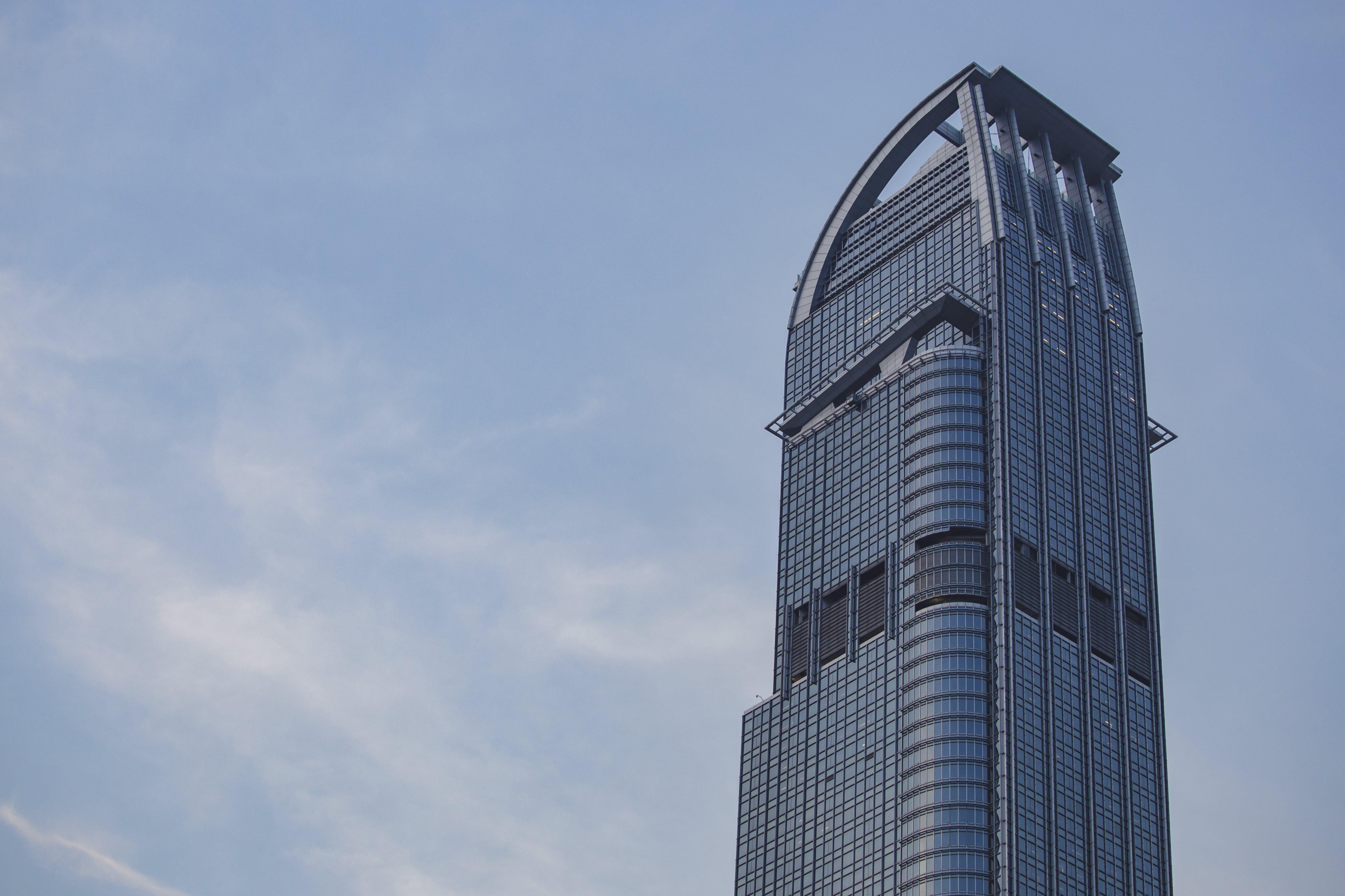 Gray Building