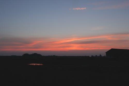 夜明け, 日没, 水, 空の無料の写真素材