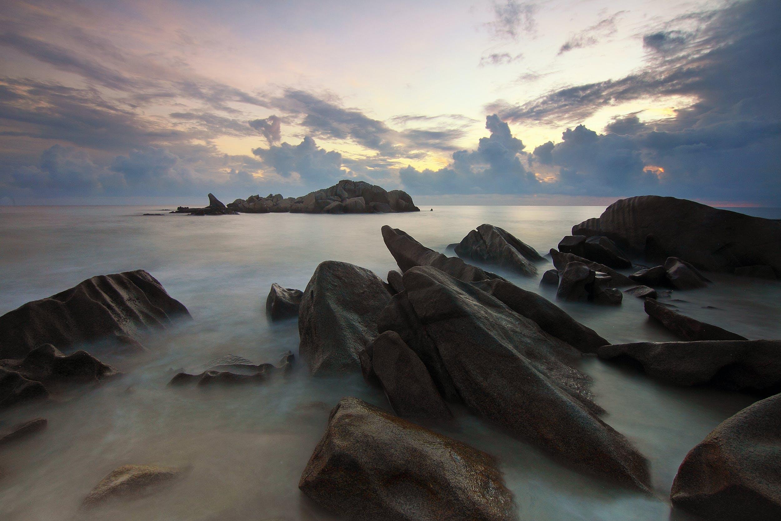 beach, nature, ocean