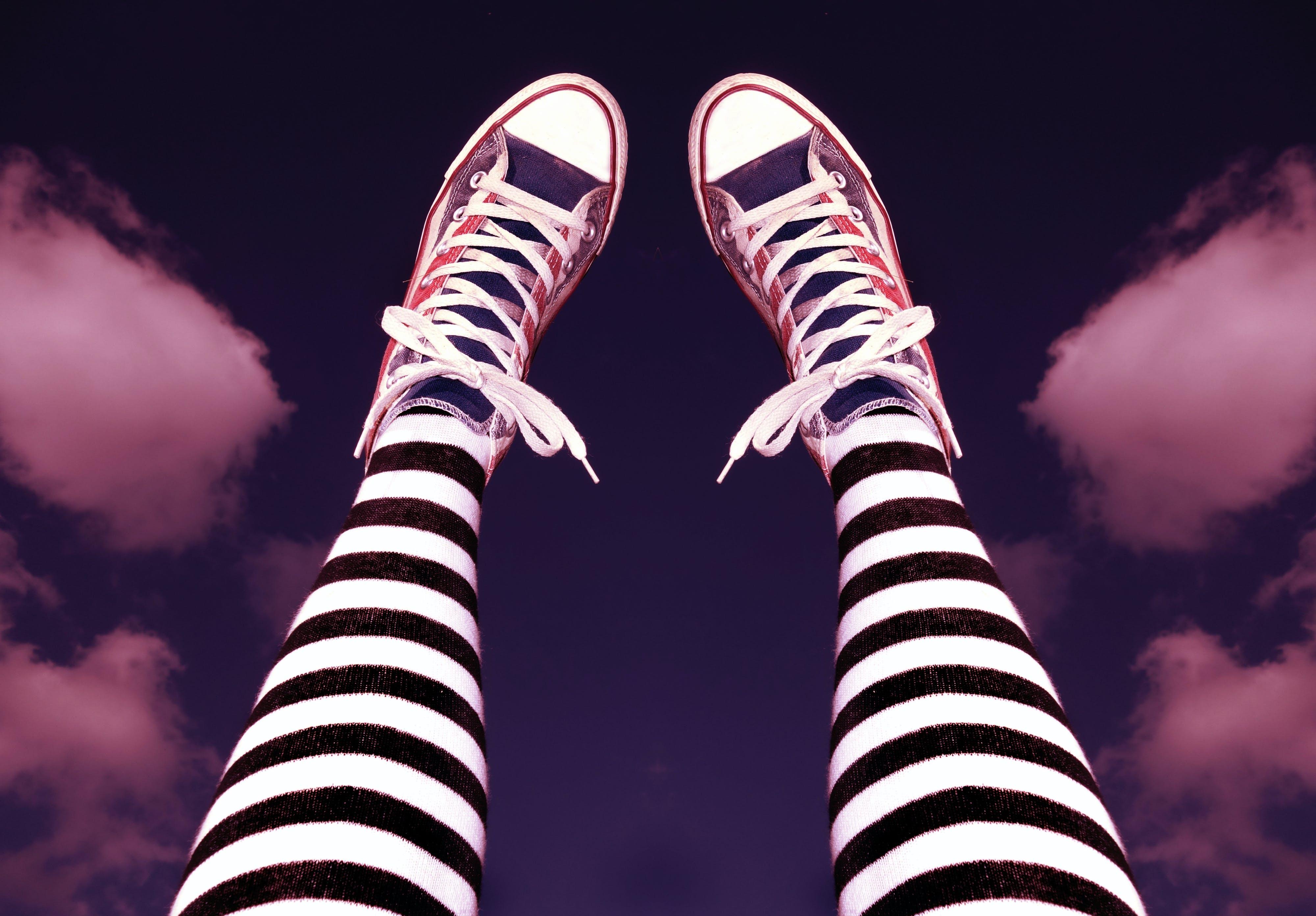 Free stock photo of cool, fashion, female, footwear