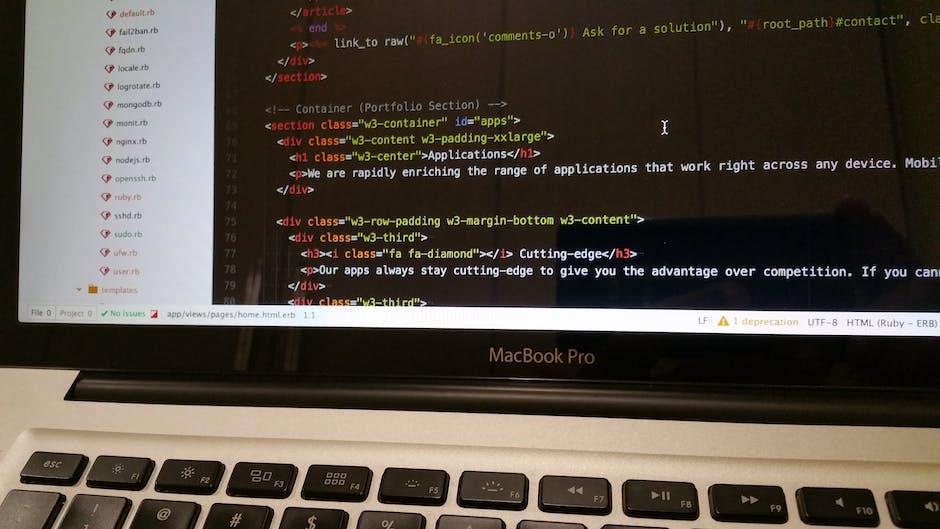 Macbook Pro Close-up Photo