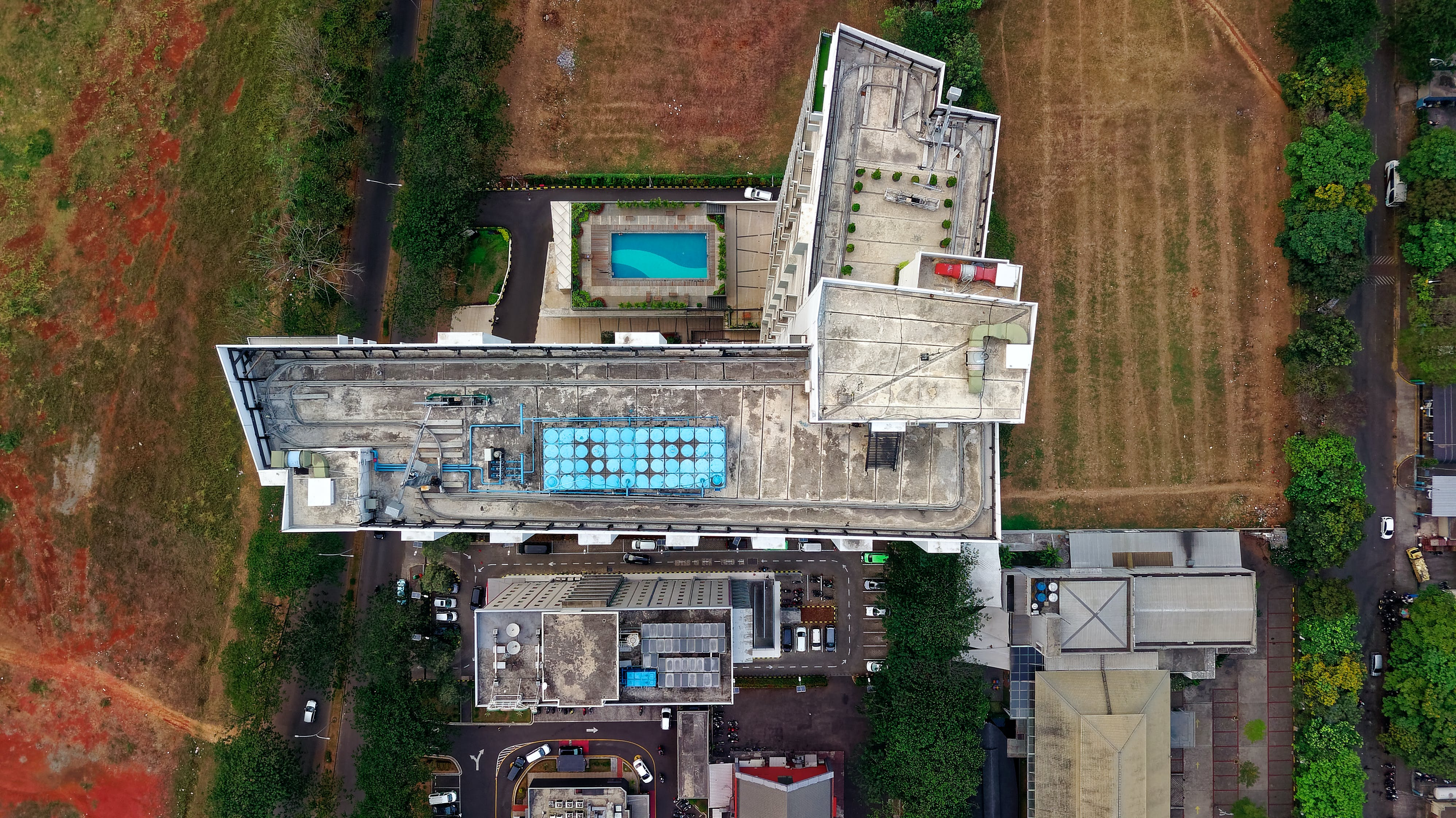 Aerial Photography of Structure