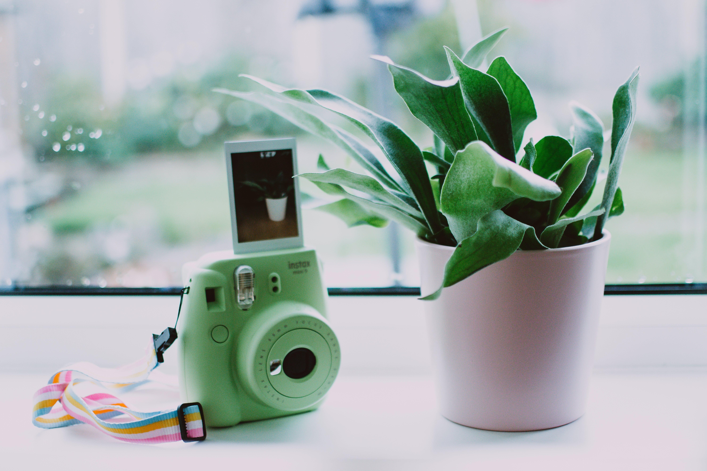 Green Instant Camera