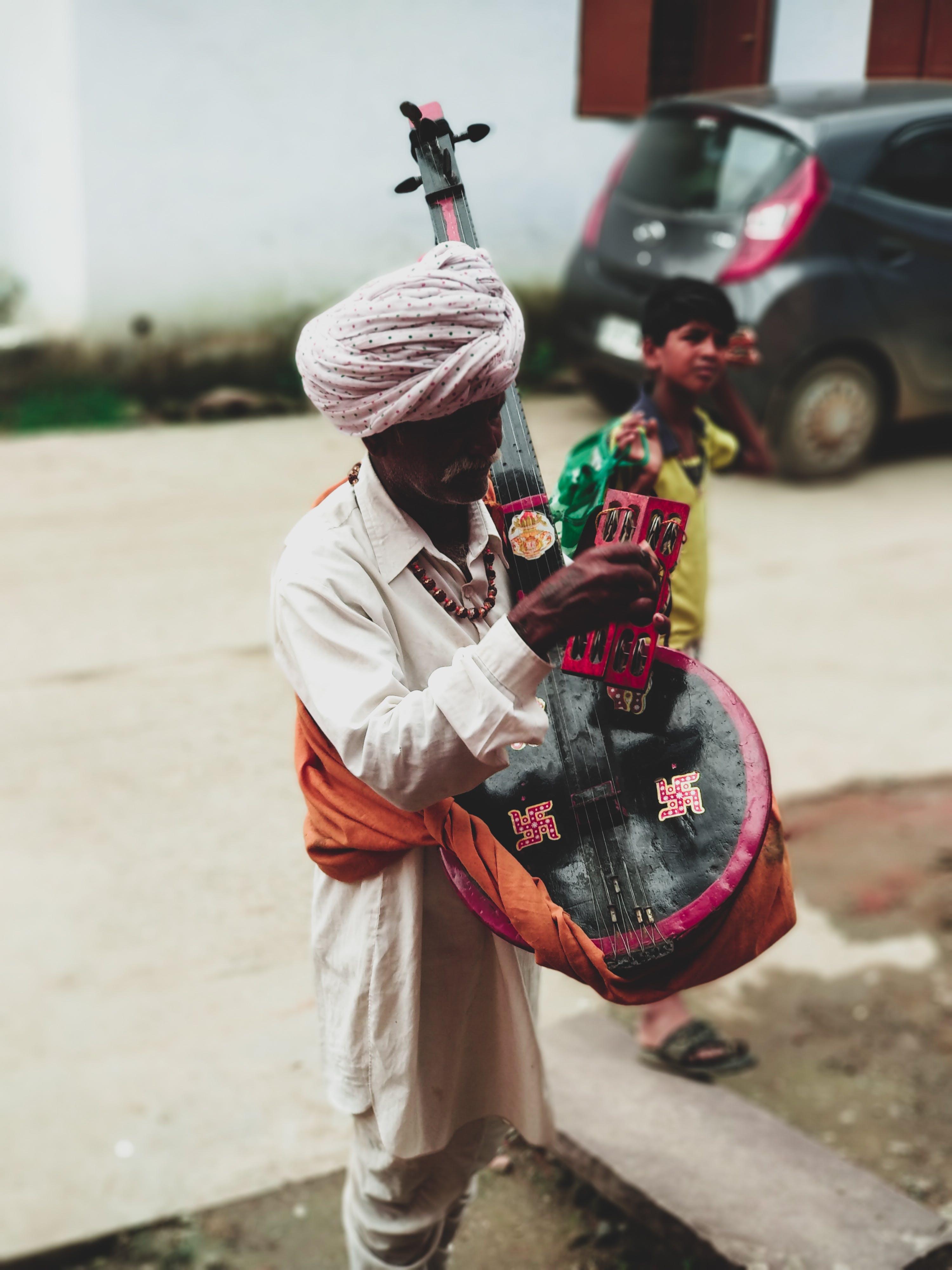 Gratis lagerfoto af fotografi, gadefotografering, Indien, indisk mand