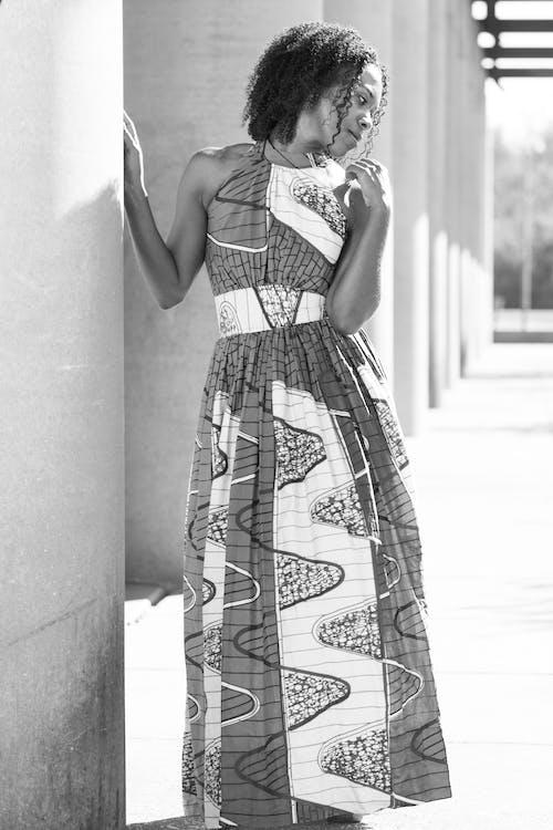 Darmowe zdjęcie z galerii z afroamerykanka, moda, model, nosić
