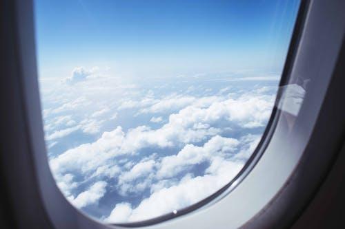 Foto d'estoc gratuïta de aviació, avió, cel, llum del dia