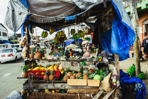 Gratis stockfoto met cabine, fruit, hok, markt