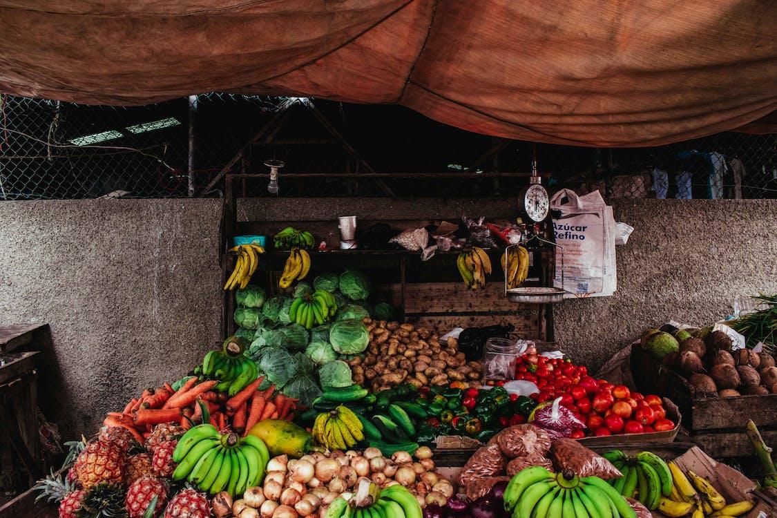 ale, banaani, hedelmät