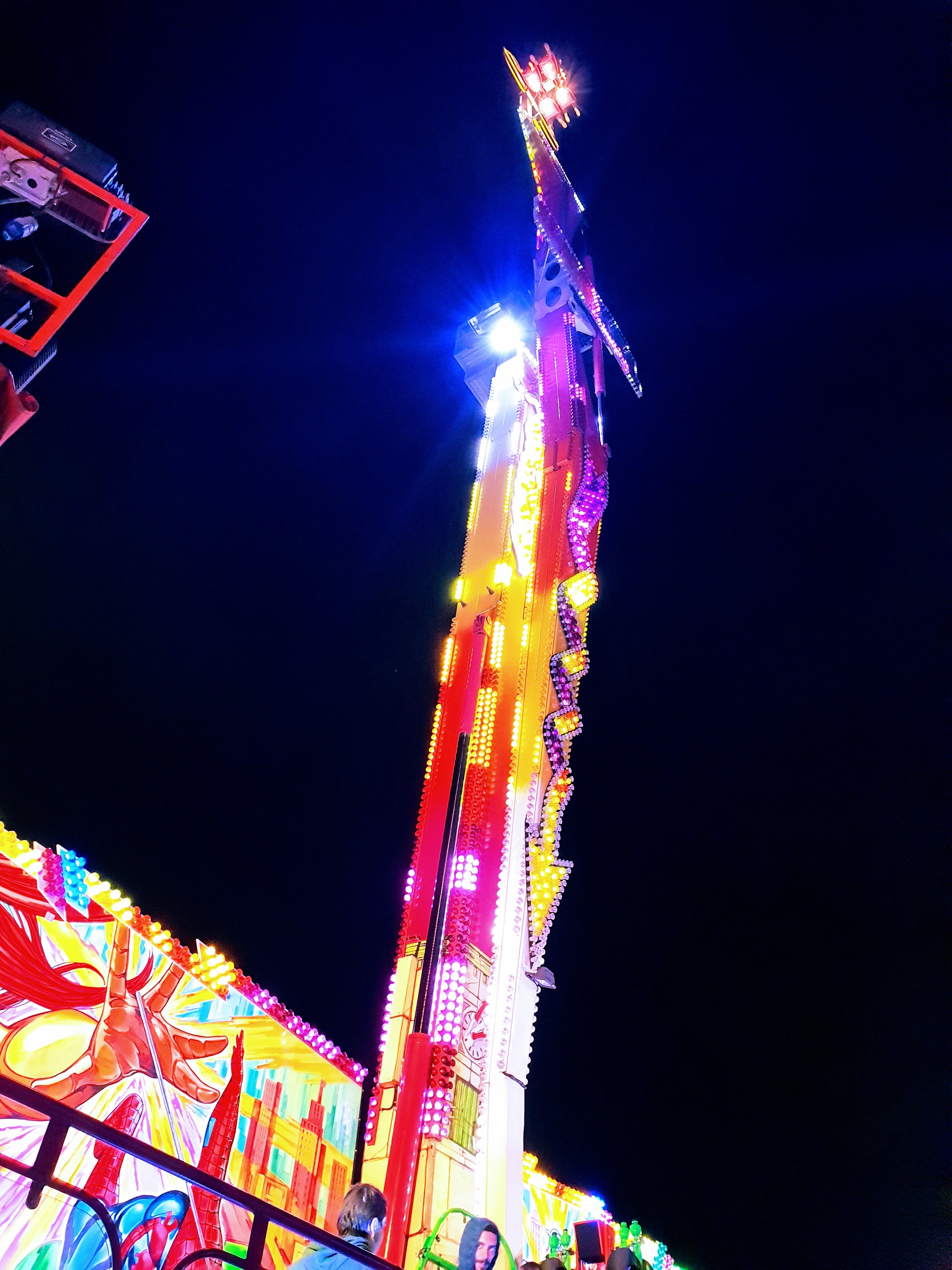 Free stock photo of funfair