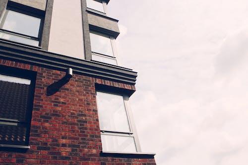 Foto d'estoc gratuïta de arquitectura, articles de vidre, contemporani, dia