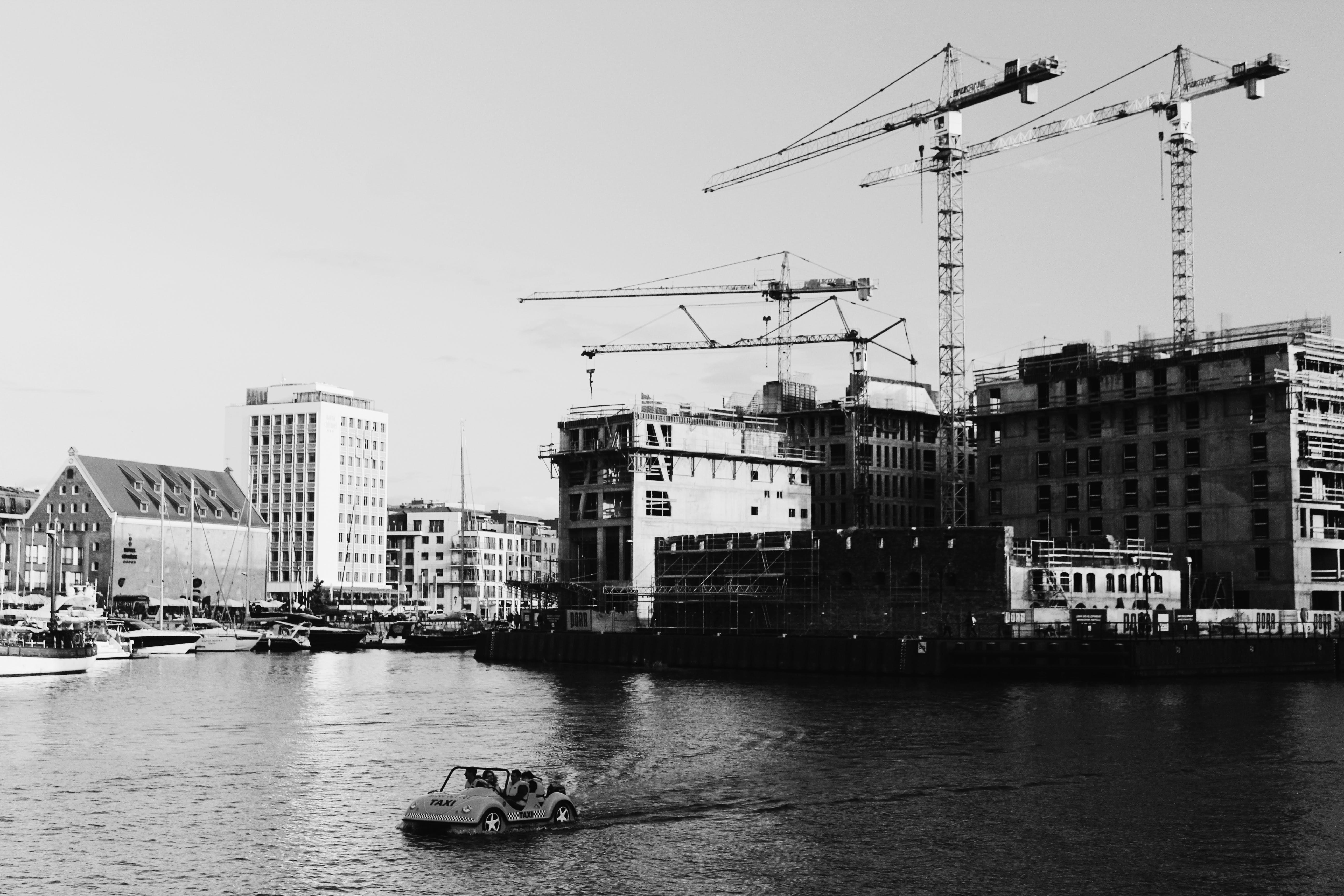 交通系統, 城市, 天空, 工地 的 免費圖庫相片