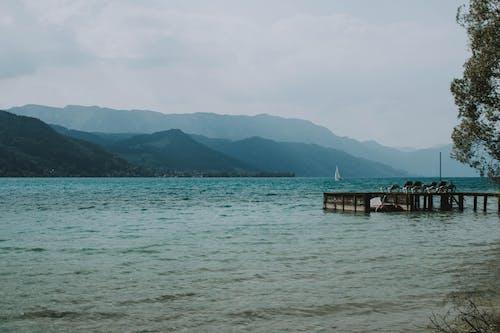Foto d'estoc gratuïta de aigua, Àustria, embarcador, llum del dia